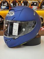 預購商品 任我行騎士部品 日本SHOEI X-14 X14 消光藍 浮動鏡片 全罩 安全帽 素色 可PFS
