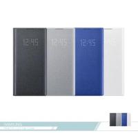 【SAMSUNG 三星】原廠Galaxy Note10+ N975專用 LED皮革翻頁式皮套(公司貨)