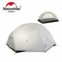 Naturehike Mongar 2 Camping เต็นท์2คน1.8กก.20D ไนลอนผ้า Double เต็นท์เต็นท์เต็นท์3000มม.กันน้ำอุปกรณ์