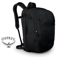 【Osprey 美國】NOVA 32 電腦背包 15吋筆電背包 城市背包 旅行背包 女款 黑色〈容量32L〉(Nova32)