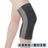 【Fe Li 飛力醫療】HA系列 專業竹碳提花軟鐵護膝(H09-醫材字號)