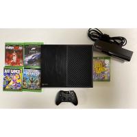XBOX ONE主機+體感應器Kinect+送5片遊戲片(不拆售,不議價)可自取