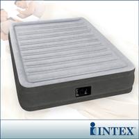 【INTEX】豪華型橫條-內建電動幫浦充氣床