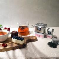 【samova 歐洲時尚茶飲】有機伯爵紅茶/天然佛手柑製成/Lazy Daze 白日夢(Tea Tin系列)