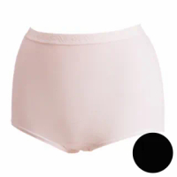 【Wacoal 華歌爾】新伴蒂內褲M-3L高腰三角款(經典黑)