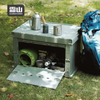 【SHIMOYAMA 日本霜山】工業風耐重摺疊置物收納箱-75L-2色可選(工業風 收納箱 整理箱 露營)