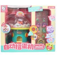 mini自動扭蛋機 1086 (附電池)/一台入(促650) 桌上型扭蛋機 有音樂 搖獎機-CF144884