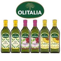 【Olitalia 奧利塔】純橄欖油+葡萄籽油+葵花油禮盒組(1000mlx6瓶--3禮盒裝)
