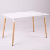 北歐實木餐桌120x80x75cm