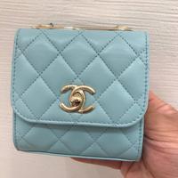 💙Chanel mini trendy baby藍 絕版顏色驚現一隻 太可愛了這個顏色 $6xxxx💙