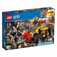 LEGO 樂高 CITY 城市系列 採礦重型鑽孔機 60186