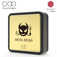 【Chord&Major】Chord & Major DEVIL HEAD minor 81'19 惡魔頭小調性耳機(耳機/入耳式耳機)