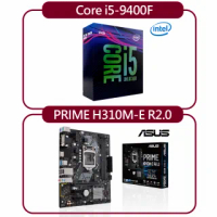 【ASUS 華碩】華碩 PRIME H310M-E R2.0 主機板 + Intel Core i5-9400F(五組入)