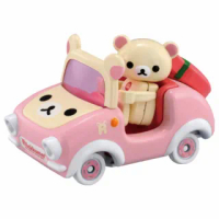 【TOMICA】騎乘系列 粉紅拉拉熊(小汽車)
