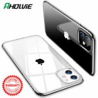 ใสโทรศัพท์กรณีสำหรับApple iPhone 11 Pro Max 12 Mini X XR XS 8 Plus 7 6S SE 2020 IPhone11ซิลิโคนโปร่งใสอุปกรณ์เสริม