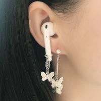 耳機防丟鍊 airpods耳夾防丟繩耳環2潮流pro耳環蘋果無線耳機耳掛練小米華為『CM41611』