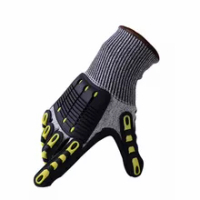 Hard Wearing Industrial En388 Impact-resistant TPR Material with Cushioning Work Gloves