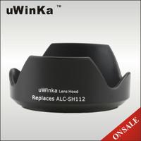 又敗家@uWinka副廠Sony遮光罩ALC-SH112遮光罩(可反扣相容索尼SONY原廠遮光罩ALCSH112遮光罩)適E 16mm F2.8 F/2.8 18-55mm F3.5-5.6 35mm F1.8 OSS DT 55-300mm F4.5-5.6 SAM FE 28mm F2 SEL28F20 SEL16F28 SEL1855 SEL35F18 SAL55300,可替代SH115