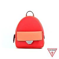【GUESS】女包-簡約素面雙色後背包-紅(VY754230ROM)