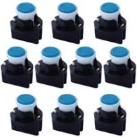 10Pcs T10 V2 COB LED W5W Wedge PA T10-V2 Twistล็อคอัตโนมัติรถแดชบอร์ดแผงควบคุมแสงหลอดไฟDC12V