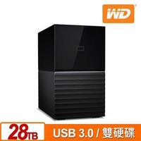 WD 威騰 My Book Duo 28TB(14TBx2) 3.5吋雙硬碟儲存
