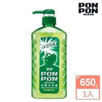 【澎澎MAN】速爽2in1 洗髮沐浴露-控油酷涼型-650g