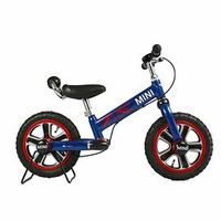 【領券滿額折50】MINI COOPER原廠授權兒童滑步平衡車12吋(藍色) 3980元