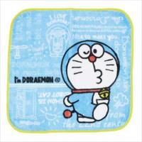 大賀屋 哆啦A夢 方巾 手帕 手巾 毛巾 擦手巾 小手帕 方形 兒童 小叮噹 日貨 正版 授權 J00012510