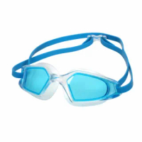 【SPEEDO】HYDROPULSE 成人運動泳鏡-游泳 訓練 戲水 抗UV 透明水藍(SD812268D647)