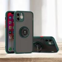 Luxury กล้อง Len ป้องกัน Coque สำหรับ Apple iPhone 11 12 Pro Max X XR XS Max 6 7 8 plus ผู้ถือขาตั้งแหวนด้านหลังฝาครอบ