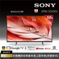 【SONY 索尼】BRAVIA 55型 4K Google TV 顯示器(XRM-55X90J)