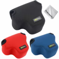 Neoprene Camera Pouch Case Bag for Canon EOS M50 Mark II/EOS M50 With EF-M 15-45mm Lens