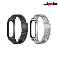 【JPB】小米手環 3/4/5/6 金屬米蘭卡扣錶帶