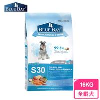 【BLUE BAY 倍力】S30狗飼料 鮭魚《舒敏護膚配方》16KG