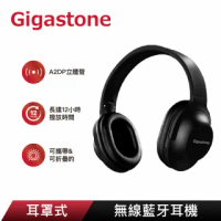 【Gigastone 立達國際】Headphone H1耳罩式無線藍牙耳機(2合1支援有線及無線模式/支援iPhone12)