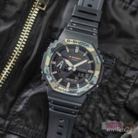 卡西歐手錶男G-SHOCK八角形時尚潮流運動錶GA-2100SU 2110SU-3A 9 7JhK