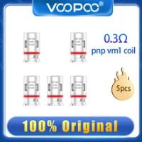 Original Voopoo PNP VM3 Coil ครึ่ง DL 0.45 Ohm PNP Pod 25-35W สำหรับ Voopoo ลาก X argus Vinci Mod Pod
