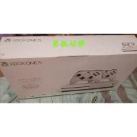 光碟機版本 Xbox One S 1TB主機 白色 台灣專用機 最超值 4K藍光機 二手盒裝美品