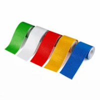 5cmx1m Safety Mark Reflective Strips Tape Sticker Car Styling Self Adhesive Warning Tape Car Motorcycle Reflective Strip