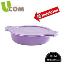 【UCOM 瑞康屋】德國新煮藝卡樂芙18CM薰衣紫陶瓷鍋(0.6L)