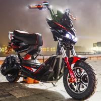 小熊戶外 免運熱賣可分期戰狼電動車x戰警電瓶車電摩72v踏板極客電動摩托車男高速新款改裝