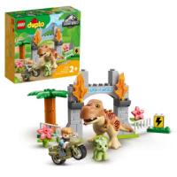 【LEGO 樂高】得寶系列 T. rex and Triceratops Dinosaur Breakout 10939 侏羅紀世界 恐龍(10939)