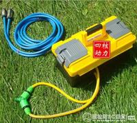【九折】充電式抽水機 充電式抽水機農用澆菜神器便攜式小型水泵戶外田園家用電動自吸泵