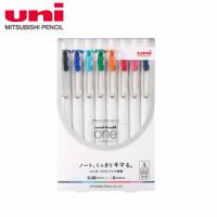 【UNI】三菱 UNI-BALL ONE鋼珠筆 8色套組 0.38