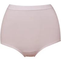 【Wacoal 華歌爾】新伴蒂-S型 中腰M-LL機能內褲2件組(柔粉紅)