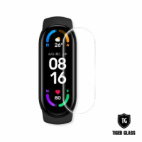 【T.G】小米手環6代 高透3D防爆水凝膜螢幕保護貼(2入)