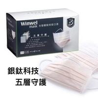 【大智Winwel mask】高頂級大智銀鈦科技口罩(口罩 活性炭 活性碳 PM2.5)