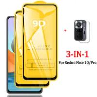 Note10 Glass, Redmi-Note-10 S Glass for Xiaomi Redmi Note 10 Pro Tempered Glass Redmi Note10 Pro Protective Glass Film Redmi