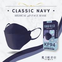 【久富餘】4D立體4層防護KF94醫療口罩10片/盒x2(單片獨立包裝魔力歐若拉)