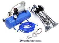四管氣喇叭改裝車氣泵12V 150psi 3L6L氣罐空氣壓縮機空壓機